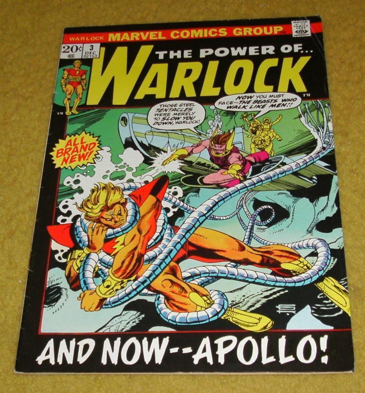 The Power of Warlock #3 fine/very fine 7.0