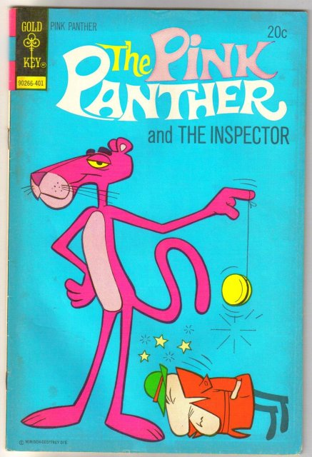 The Pink Panther #17  comic book fine 6.0