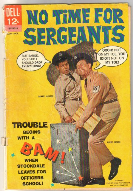 No Time For Sergeants #3 comic book fair 1.5