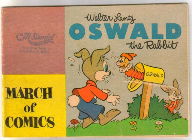 March of Comics with Oswald the Rabbit #111 comic book very good 4.0