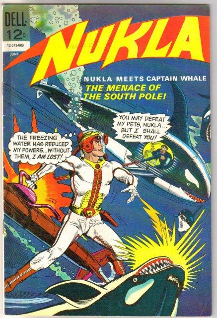 Nukla #3 comic book very good/fine 5.0