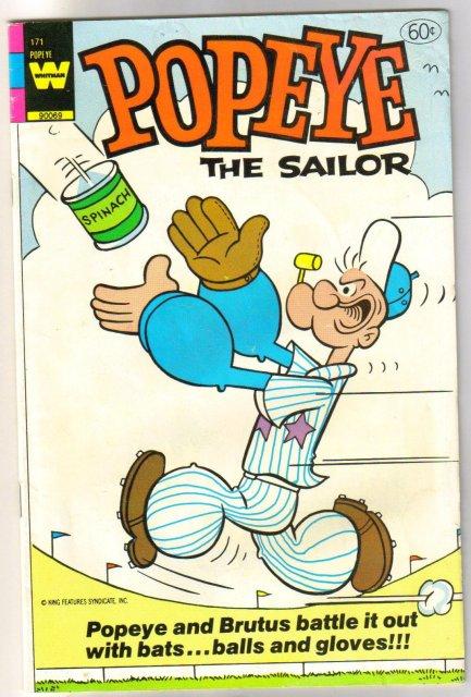 Popeye the Sailor #171  comic book fine 6.0