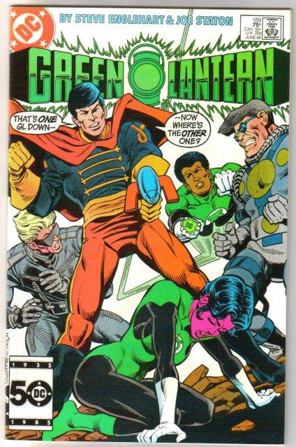 Green Lantern #189 comic book near mint 9.4