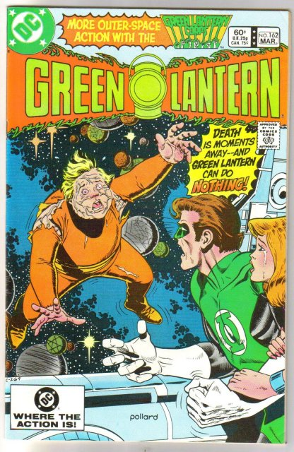 Green Lantern #162 comic book near mint 9.4