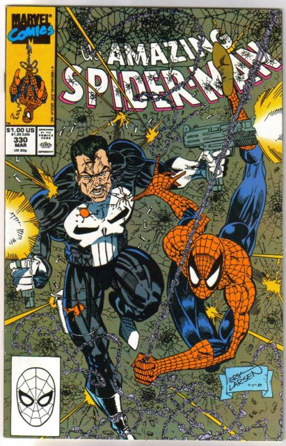 Amazing Spider-man #330  comic book  mint 9.8