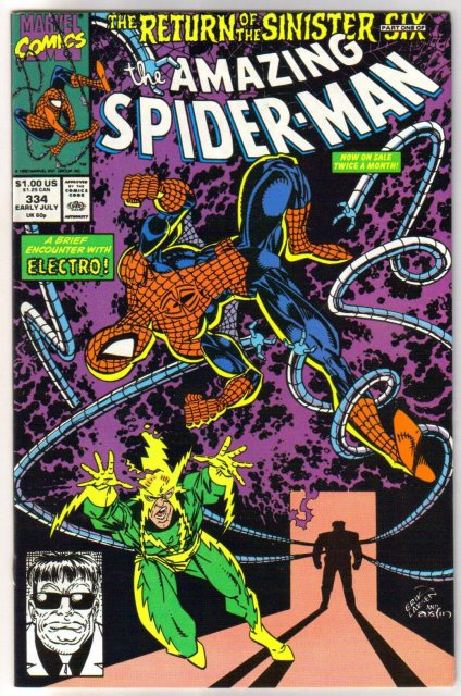 Amazing Spider-man #334  comic book  mint 9.8