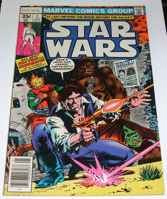 Star Wars #7 near mint 9.4