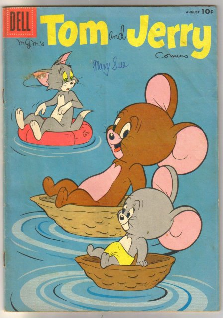 Tom and Jerry #169 comic book very good 4.0