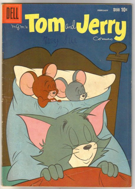 Tom and Jerry #175 comic book very good 4.0