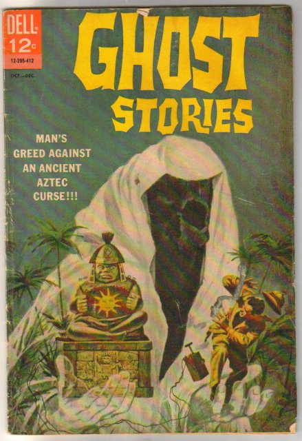 Ghost Stories #8 comic book good/very good 3.0