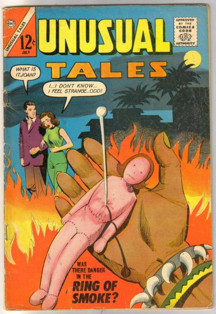 Unusual Tales #40 comic book very good 4.0