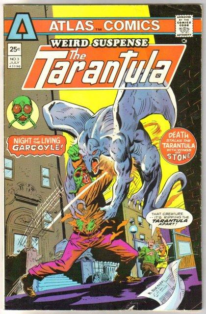 Weird Suspense the Tarantula #3 comic book very good 4.0