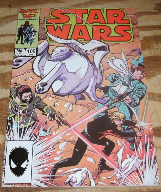 Star Wars #105 near mint/mint 9.8