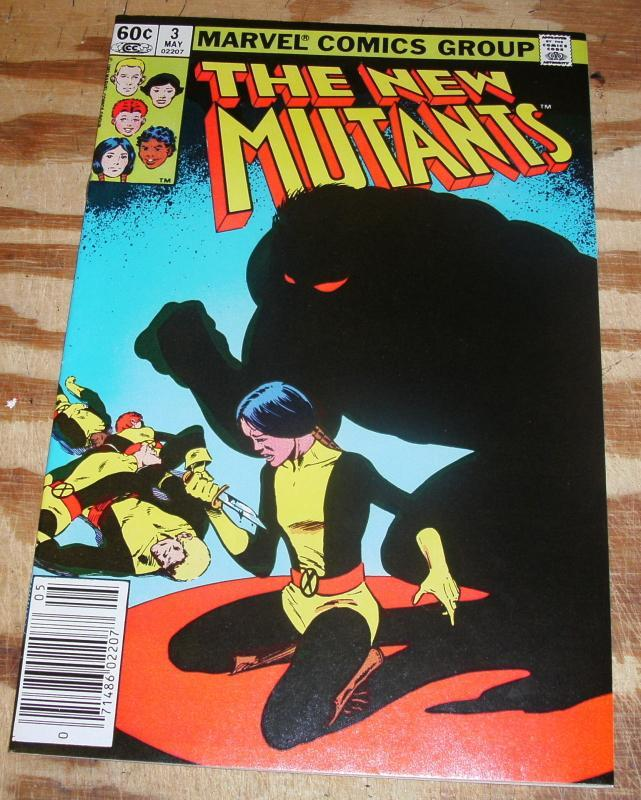 New Mutants #3 near mint plus 9.6
