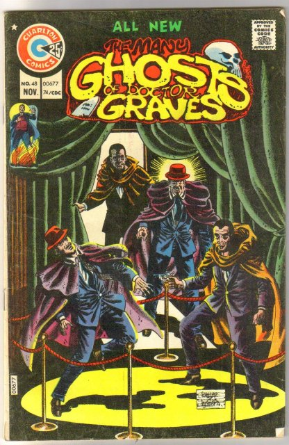 Many Ghosts of Doctor Graves #48 comic book fine 6.0