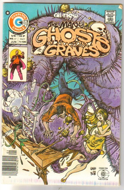 Many Ghosts of Doctor Graves #57 comic book fine plus 6.5