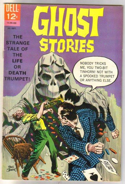 Ghost Stories #11 comic book fine plus 6.5