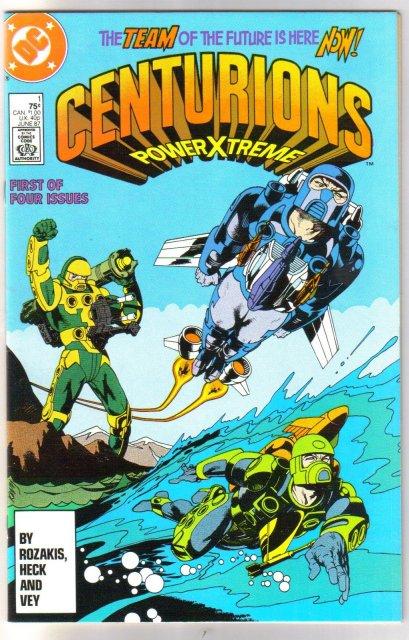 Centurians Powerxtreme #1 comic book mint 9.8