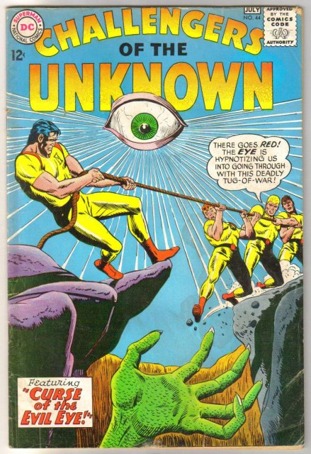 Challengers of the Unknown #44 comic book good/very good 3.0