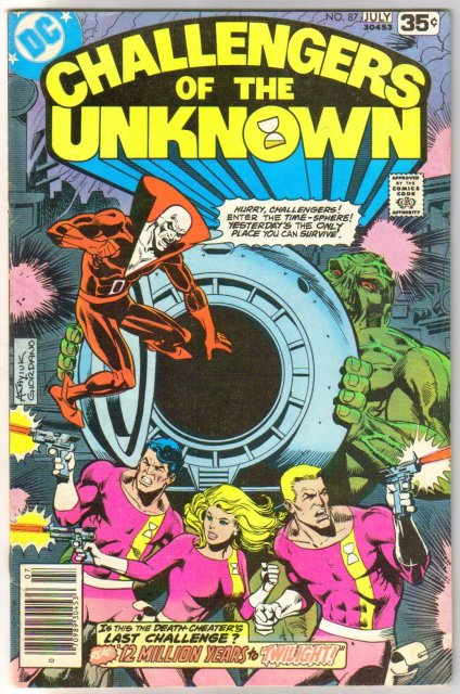Challengers of the Unknown #87 comic book very good/fine 5.0