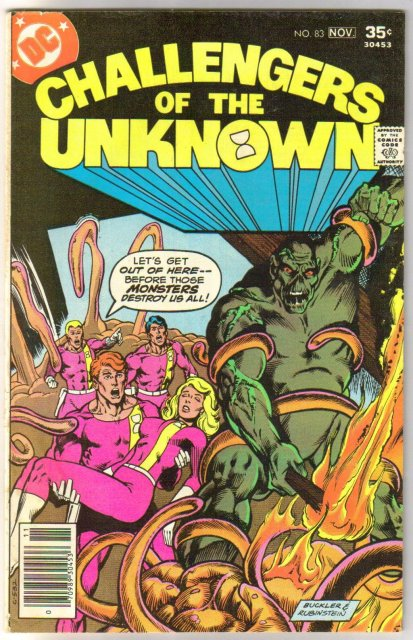 Challengers of the Unknown #83 comic book fine 6.0