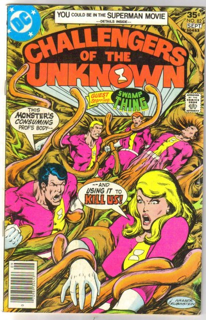 Challengers of the Unknown #82 comic book fine 6.0