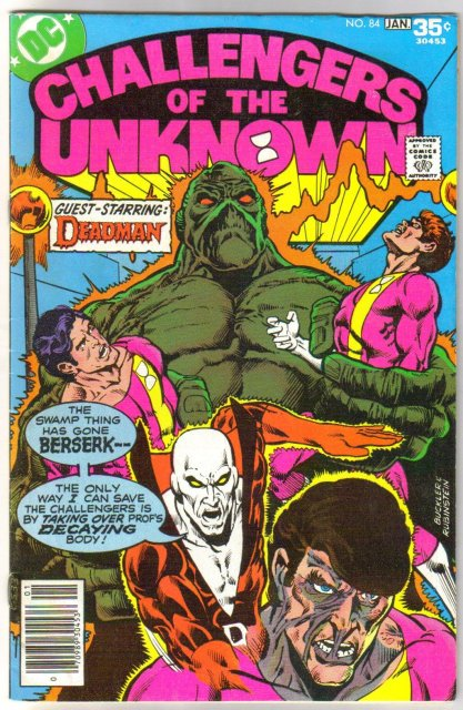 Challengers of the Unknown #84 comic book very fine 8.0