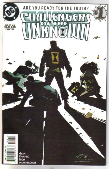 Challengers of the Unknown #1 comic book mint 9.8