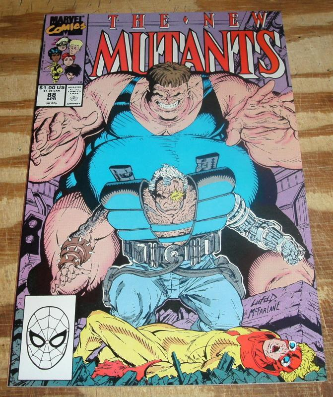New Mutants #88 near mint/mint 9.8