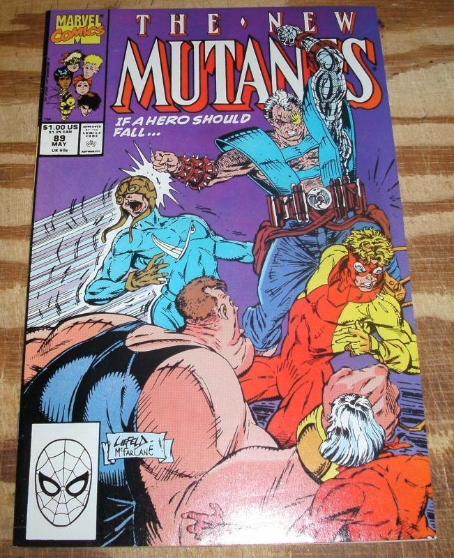 New Mutants #89 near mint 9.4