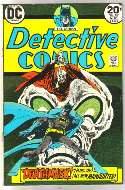 Batman's Detective Comics #437 comic book very good 4.0