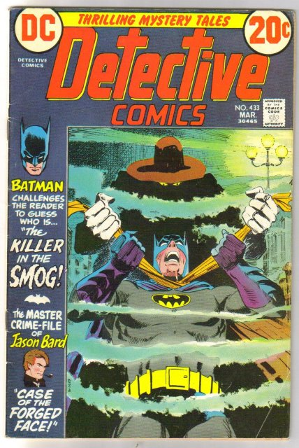 Batman's Detective Comics #433 comic book very good/fine 5.0