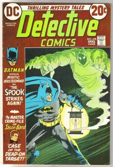 Batman's Detective Comics #435 comic book fine 6.0