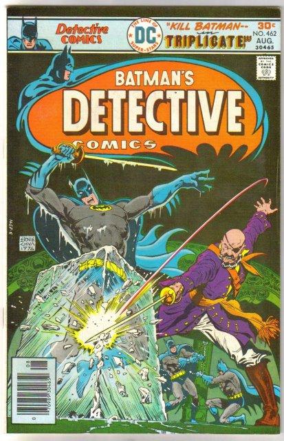 Batman's Detective Comics #462 comic book very fine 8.0