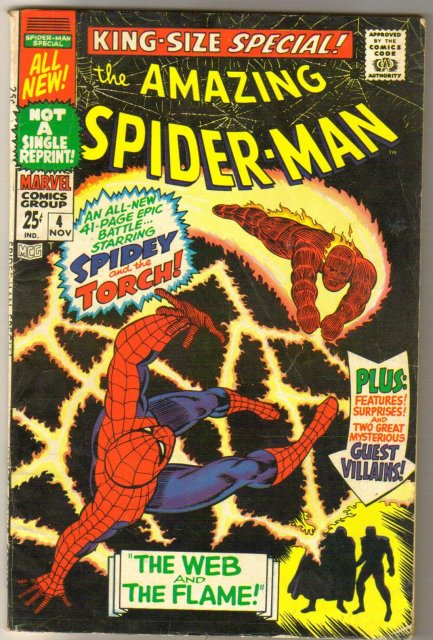 Amazing Spider-man King Size Special #4 comic book very good/fine 5.0