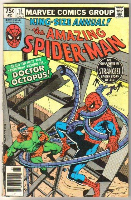 Amazing Spider-man Annual #13 comic book very fine 8.0