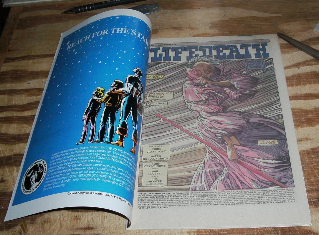 Uncanny X-Men #198 near mint/mint 9.8