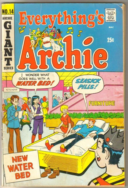 Everything's Archie #14 comic book very good 4.0