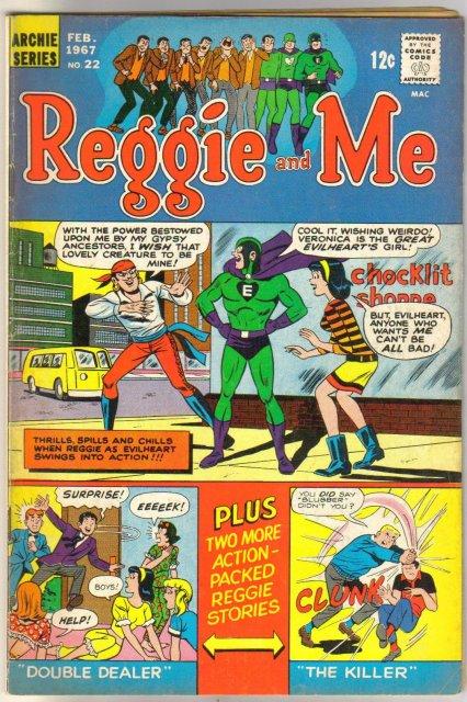 Reggie amd Me #22 comic book very good/fine 5.0