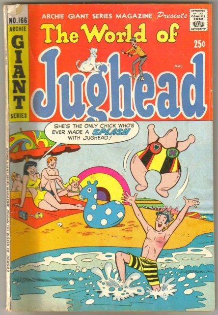The World of Jughead #166 comic book very good/fine 5.0
