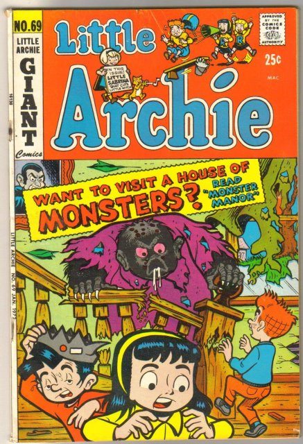 Little Archie #69 comic book very good/fine 5.0