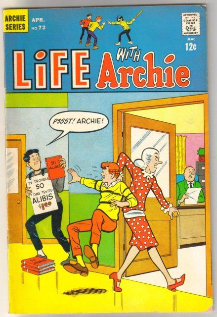 Life With Archie #72 comic book very good/fine 5.0