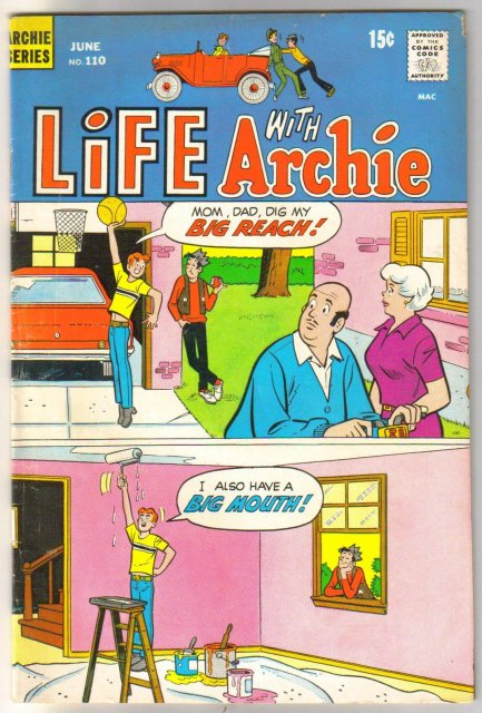 Life With Archie #110 comic book fine 6.0