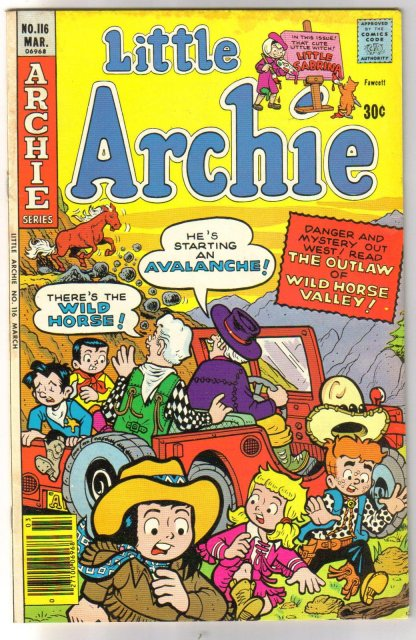 Little Archie #116  comic book very fine 8.0