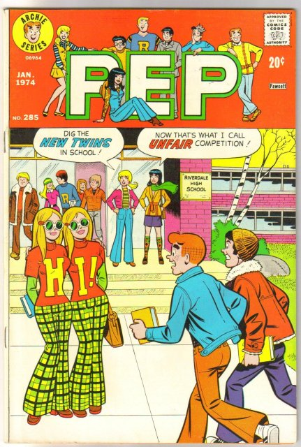 Pep Comics #285  comic book very fine/near mint 9.0