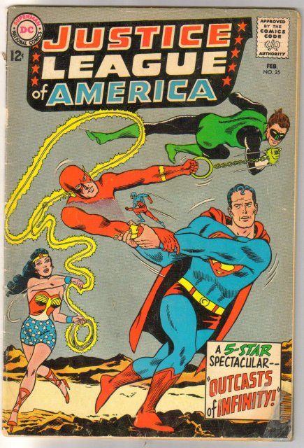 Justice League of America #25 very good 4.0poor 1.0
