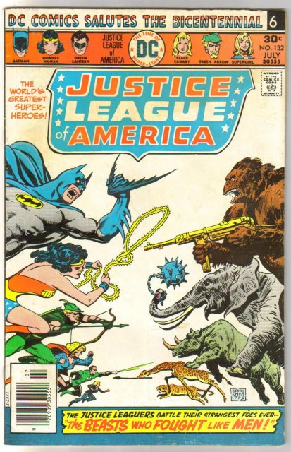 Justice League of America #132 very good/fine 5.0