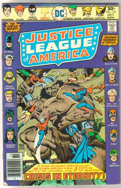 Justice League of America #135 very good/fine 5.0