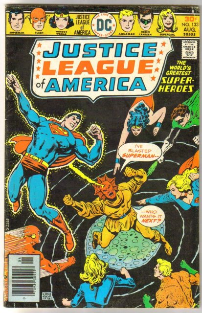 Justice League of America #133 very good/fine 5.0