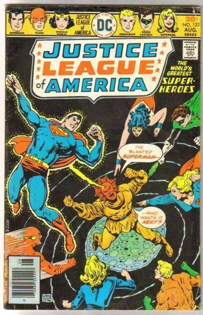 Justice League of America #133 very good/fine 5.0